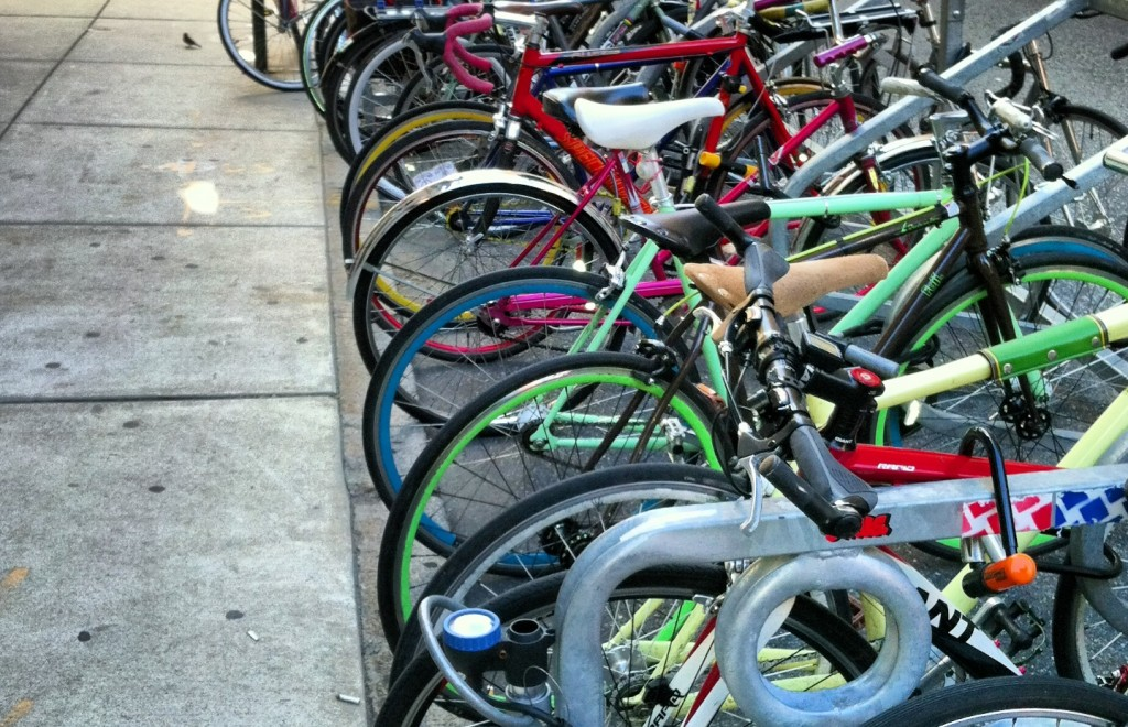Bike Parking landscape
