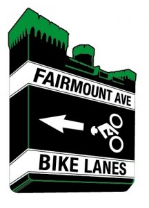 Fairmount Bike Lane logo