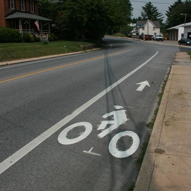 Sharrow Bicycle Coalition Of Greater Philadelphia