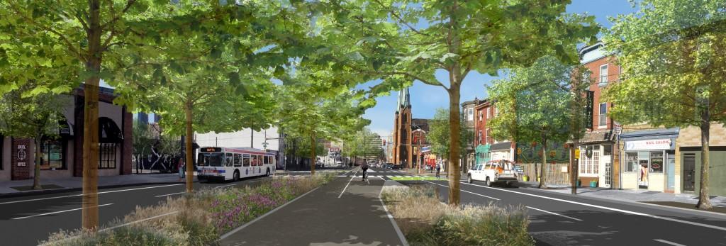 Spring Garden Greenway rendering (PEC)
