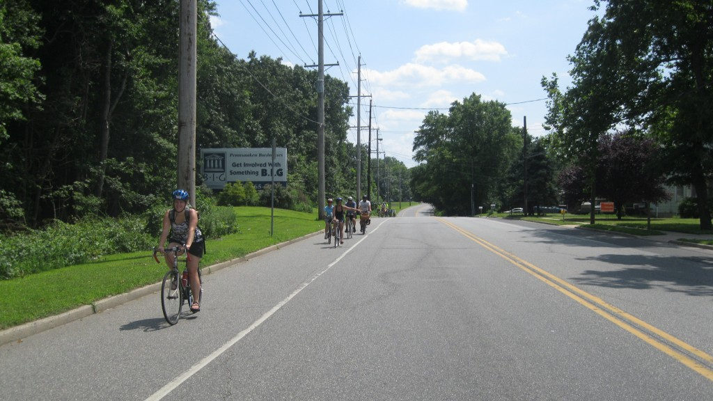 Biking the Suburbs