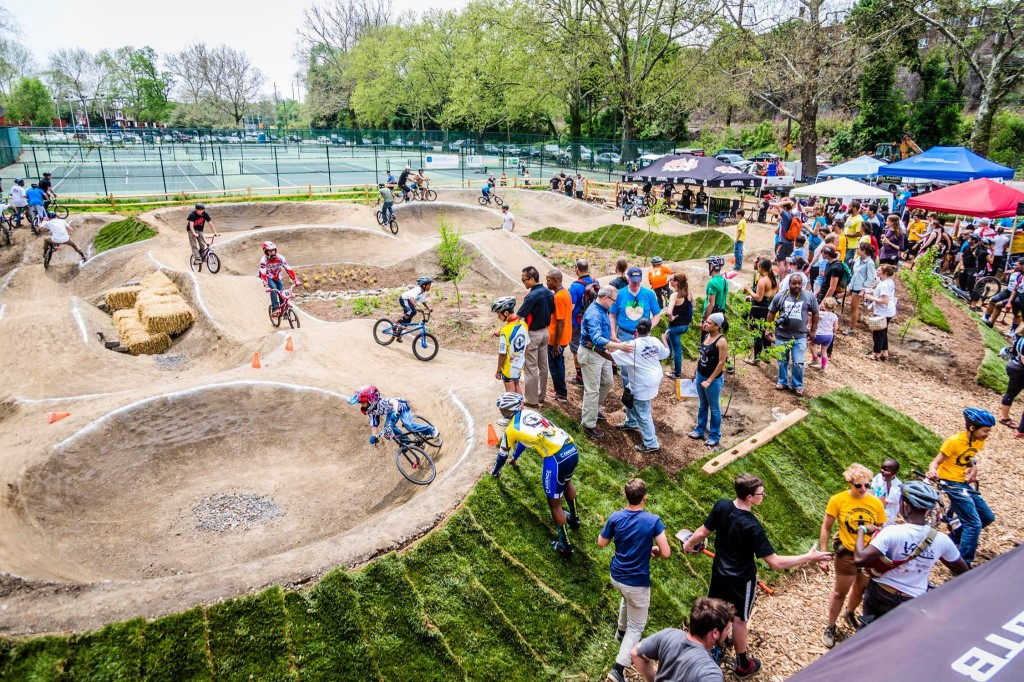 The Pumptrack – Bicycle Coalition of Greater Philadelphia