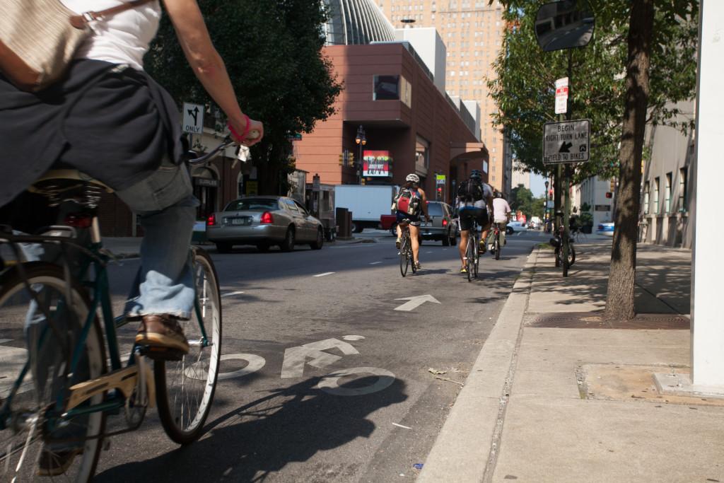Spruce Street commuting