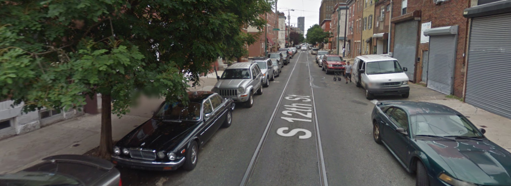 12th Street before paving. (Image via Google Streetview)