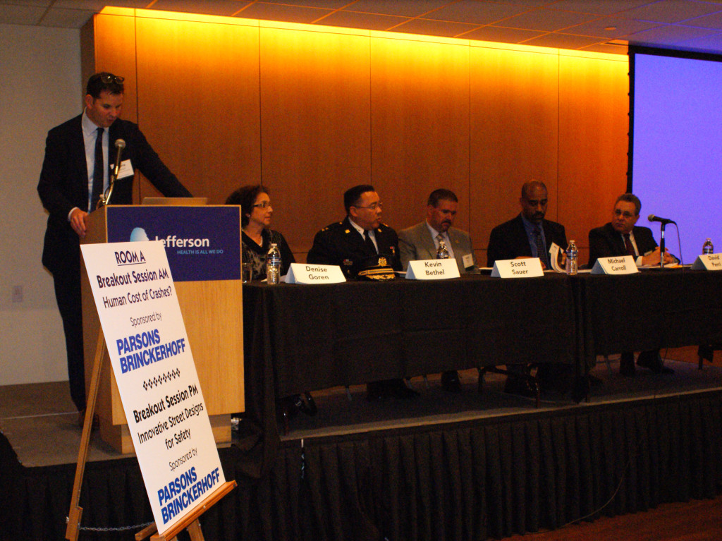 One panel features leaders in Philadelphia Streets, Police, and MOTU talking Vision Zero