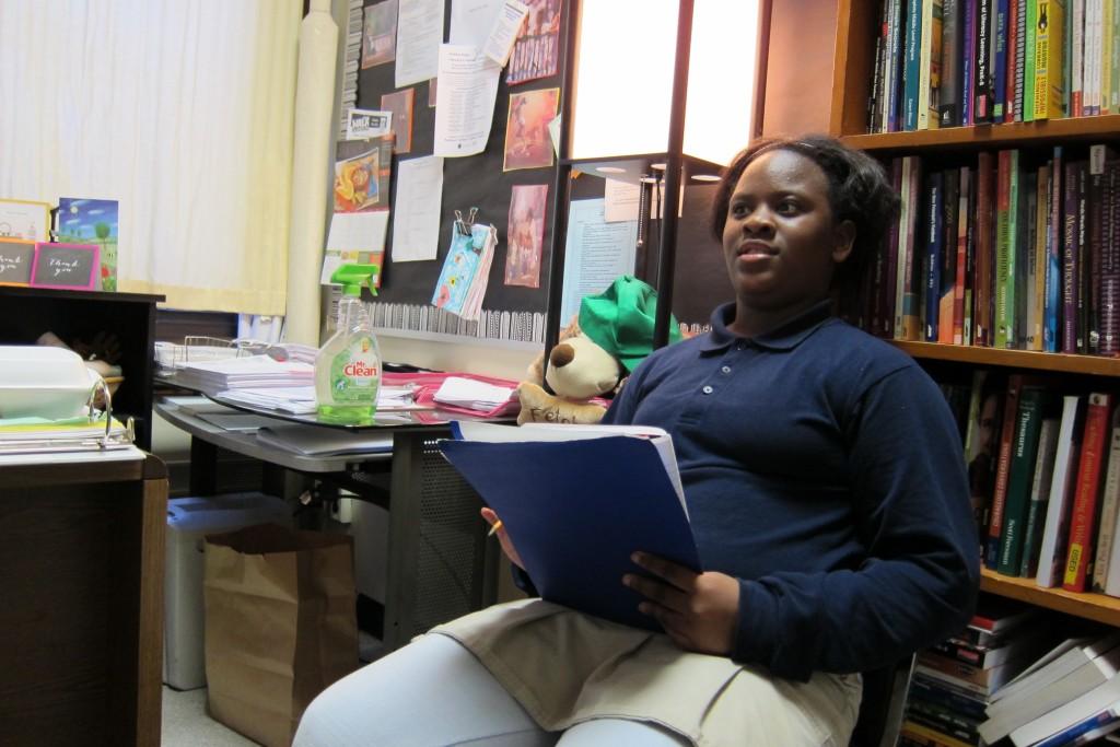 Sullivan student Rielle