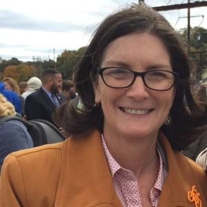 Bicycle Coalition Executive Director Sarah Clark Stuart