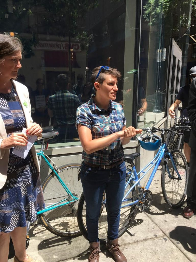 Owner of Fairmount Bicycles Shelly Salamon