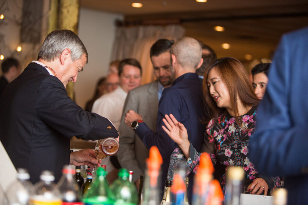 Patrons enjoyed Sazeracs made with New Liberty Distillery Rye and Voux Carrie Absinthe from Philadelphia Distilling