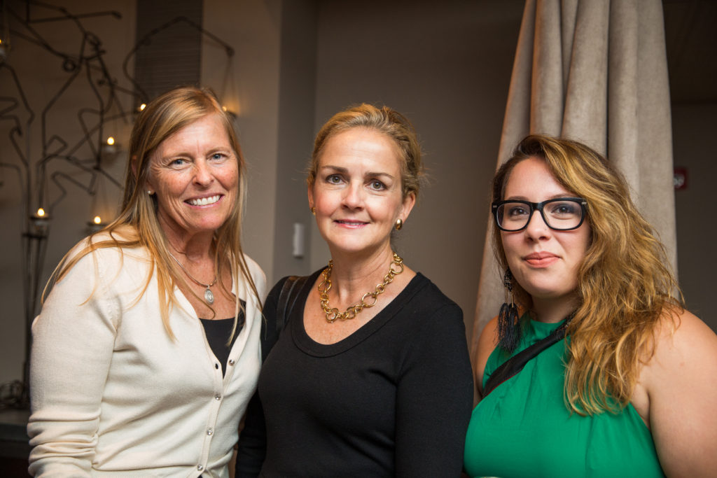 From left to right: Mary Breslin, Madeline Dean, and Larkin Silverman