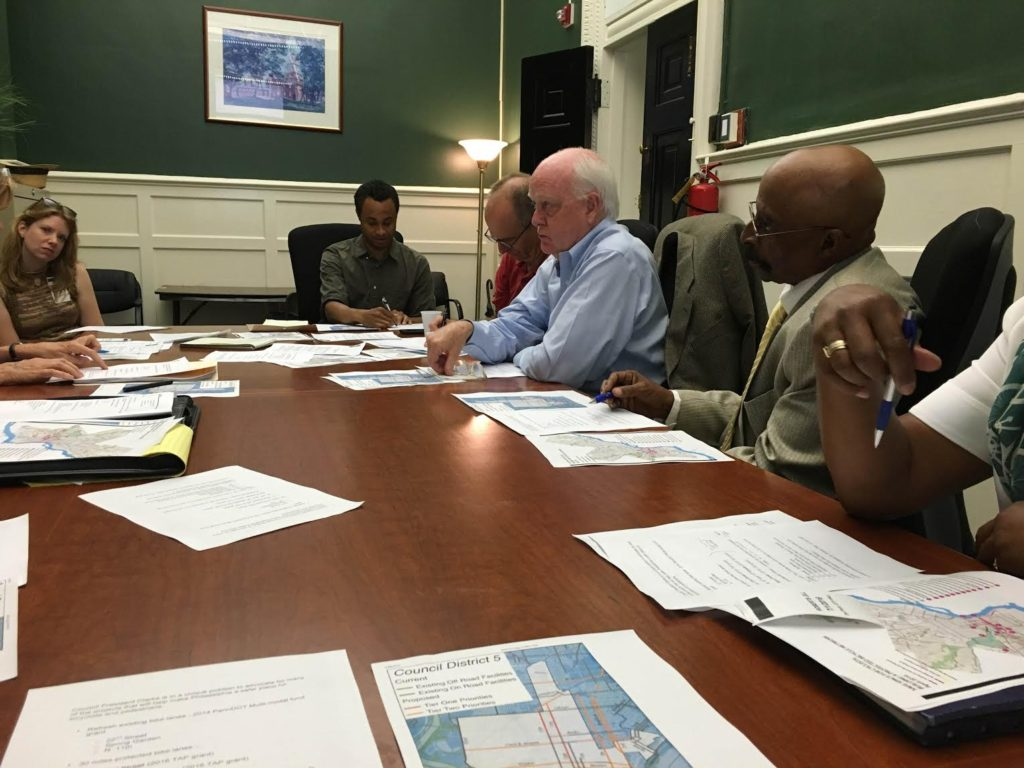 Our group meeting with Council President Staffer Corey Bell on Friday, July 1