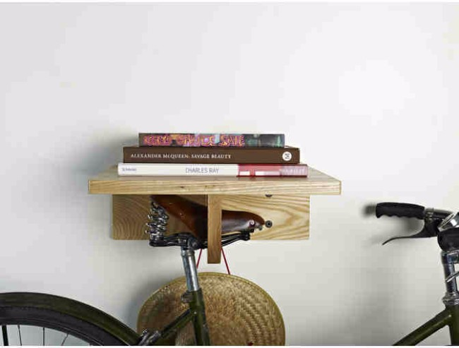 For the urban commuter: A beautiful bike rack from Board by Design - valued at $290