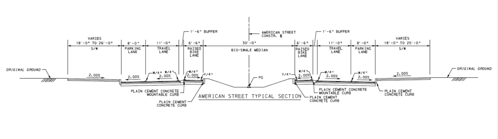 American Street Bike Lane Ordinance Introduced – Bicycle Coalition