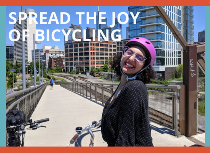 Spread the Joy of Bicycling